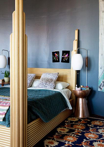 Bed Time - The Eclectic Maximalist Home Of Nashville's Coolest Fashion Designer - Photos