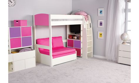 Highsleeper With Double Sofa Bed