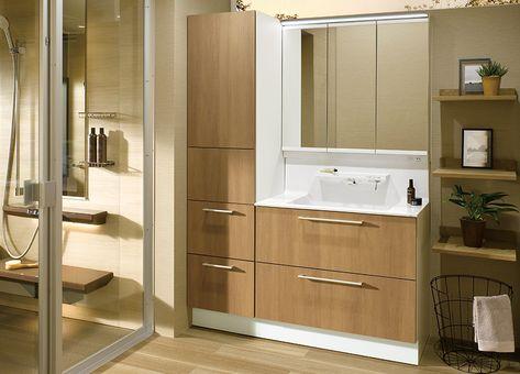 空間プラン Totoの洗面所 洗面台 洗面化粧台 オクターブ Toto 洗面台 洗面化粧台 浴室 インテリア