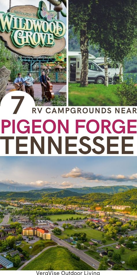 If you are looking to take an RV camping family vacation in the Smokies, then these 7 campgrounds in Pigeon Forge, TN will be the perfect place to book your vacation.