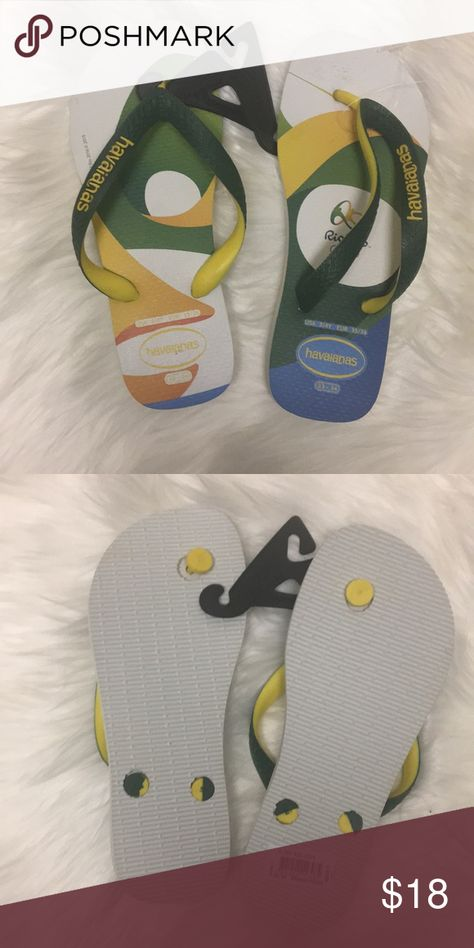 a6c1d4eef Havaianas Rio 2016 Olympics Yellow Price firm NWT in 2018