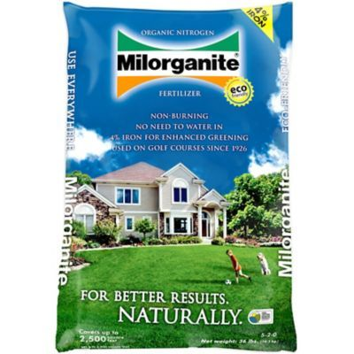 Milorganite 5-4-0 Fertilizer, 32 lb  Bag, 100539618 | For