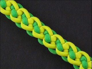 Learn to make the Back to Back Zipper Sinnet for a truly unique paracord bracelet or strap - by FusionKnots. #ParacordBraceletHQ