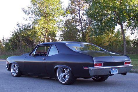 Flat Black 69 Nova | Thread: 1970 Nova