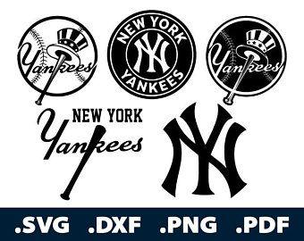 New York Yankees Svg Etsy New York Yankees New York Yankees Logo Yankees