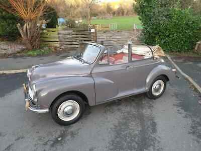 Ebay Morris Minor 1000 Deluxe Original Factory Convertible 1963 Last Owners Since 84 In 2020 Morris Minor Cars For Sale Classic Cars