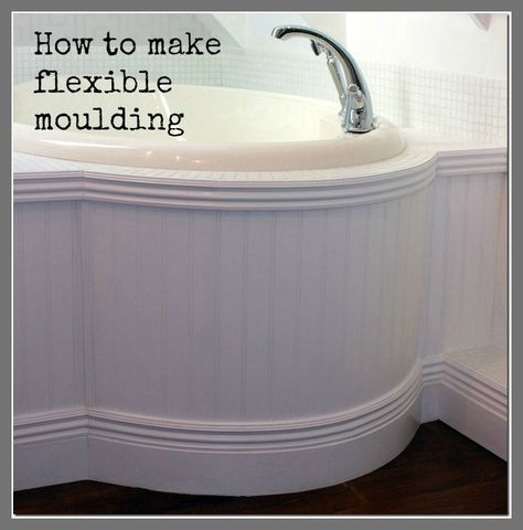 How to Make your own Flexible Moulding – Bend Moulding