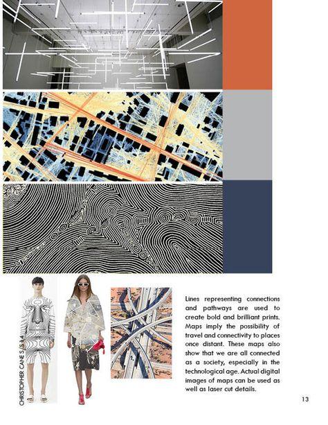 #patternmaps #printtrends #springsummer15 #MegaTrends  #S/S2015 #MollyZeiger