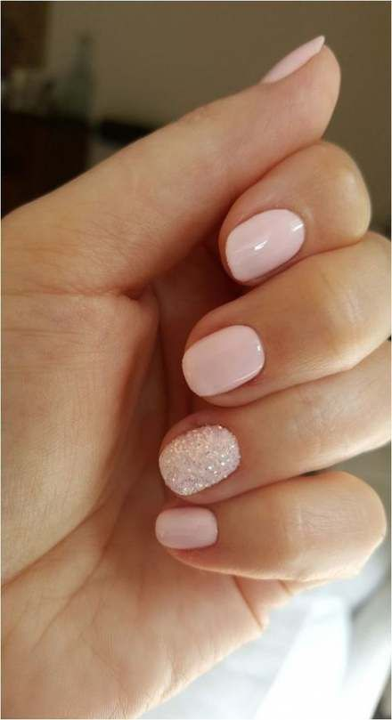 15 Ideas Manicure Ideas For Short Nails Simple Fun For 2019 In 2020 Glitter Gel Nail Designs Bridesmaids Nails Glitter Gel Nails