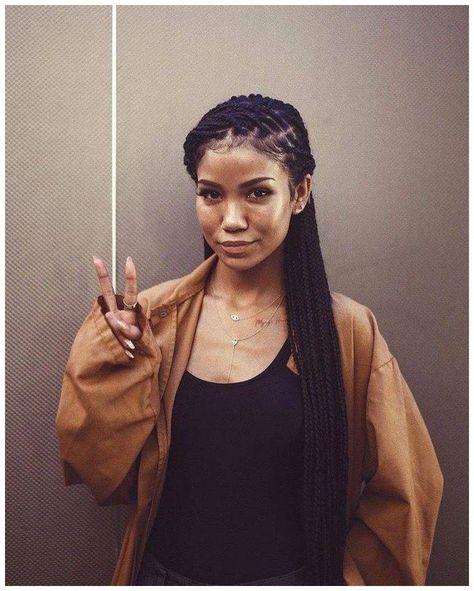 Jhené Aiko braids #NaturalHairProtectiveBraids Click the image now for more info.. #boxbraidsandheadwraps