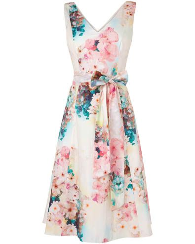 Azalea Dress at Phase Eight £140 would love it accessorised with turquoise bag.shoes.accents (no pink for me)
