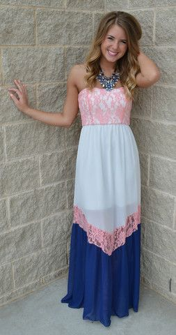 Resort Fling Lace Detailed Maxi Dress 42 99 With Images Gender Reveal Dress Causual Outfits Dresses