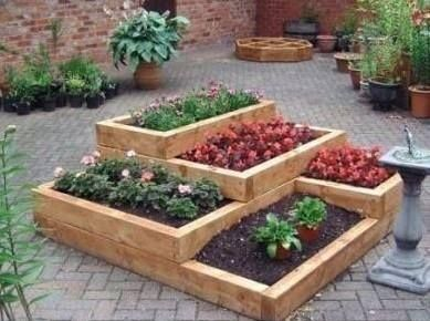 with summer on the way why not get in the garden and make some great wooden flower beds gorilla wood glue makes it easy to make garden furniture - Easy Garden Furniture To Make