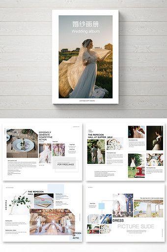 Small Fresh And Simple Set Of Wedding Brochure Wedding Brochure