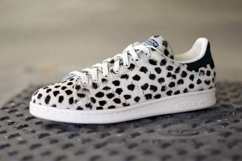 Adidas Stan Smith White Leopard Print S75117 | Sneakers
