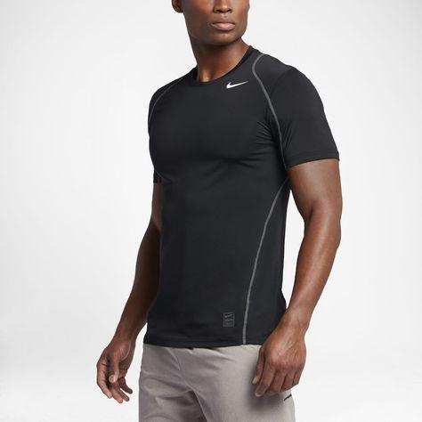 d9d90f607 Nike Pro Men's Short Sleeve Training Top Size Large-TT (Black) - Clearance  Sale