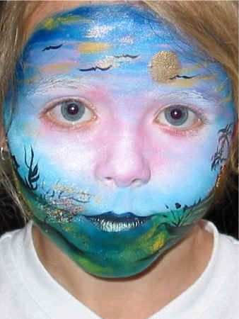Brilliant Kids Face Painting Craft Decorative Painting
