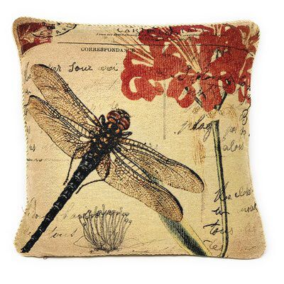 Ninon Decorative Throw Pillow Cushion Cover With Images Red