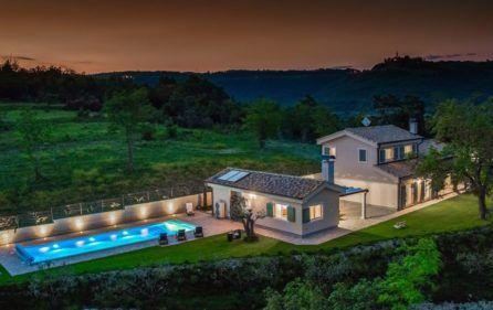 Luxury Pool Villa For Rent Istria Pizoni Luxury Croatia Net Luxury Pool House Near The Sea Villa