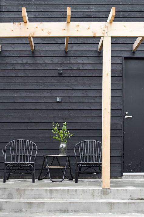Black rattan chairs   Exterior
