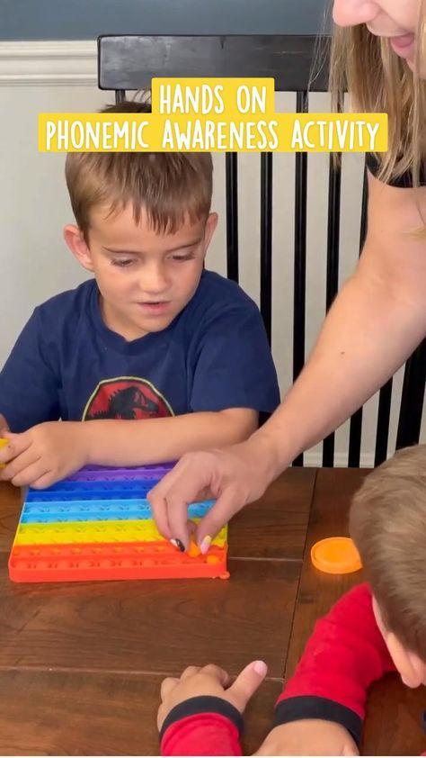 Hands onPhonemic Awareness Activities   Preschool Literacy Activities   My Pre-K Box
