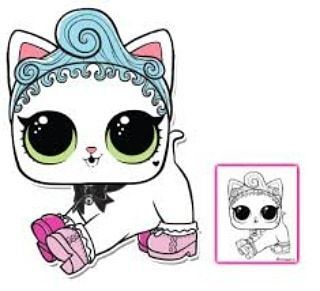 Lol Surprise Doll Coloring Pages Page 2 Color Your Favorite Lol Surprise Doll Hello Kitty Coloring Kitty Coloring Lol Dolls