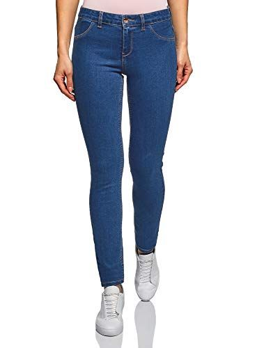 Oodji Ultra Mujer Pantalones Skinny