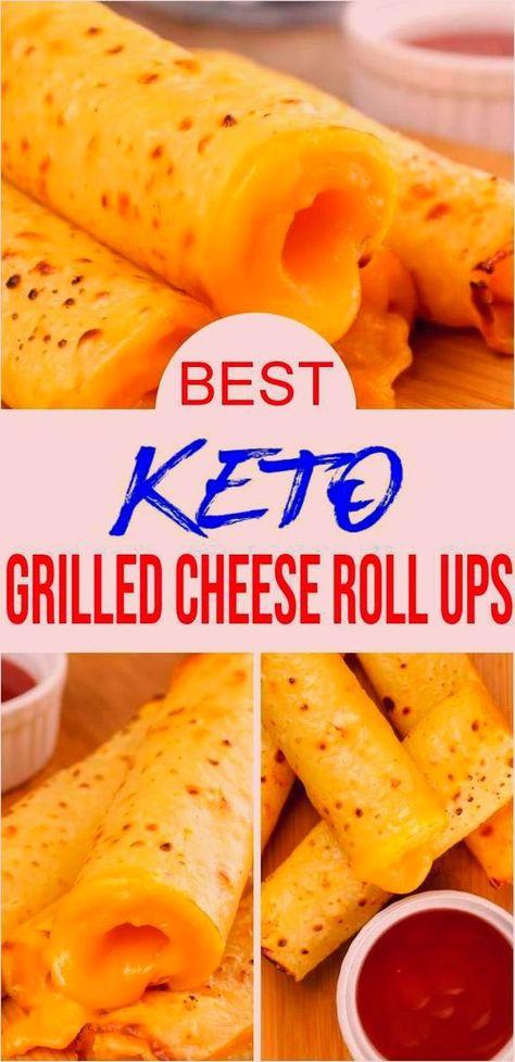BEST Keto Gegrillter Käse - Low Carb Keto Gegrillter Käse Roll Ups Rezept - Schnelle und einfache ketogene Diät Idee - Anfänger Keto Friendly - Snacks - Vorspeisen - Mittagessen - Abendessen -  YUMMY Keto Gegrillte Käse-Roll-Ups. Einfache Ketorezepte für die ERSTAUNLICHSTEN gegrillten Käse - #abendessen #anfanger #Carb #Diät #einfache #friendly #gegrillter #Idee #Käse #Keto #ketogene #mittagessen #rezept #Roll #schnelle #snacks #und #ups #Vorspeisen