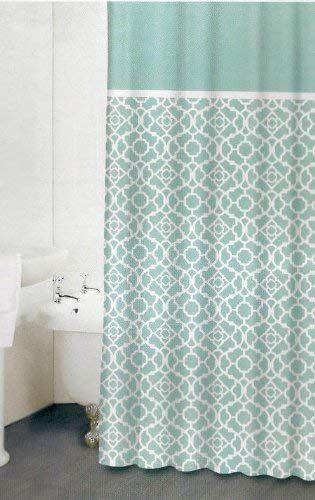 Amazon Com Waverly Lovely Lattice Shower Curtain Bedding Bath In 2020 Fabric Shower Curtains Curtains Bathroom Shower Curtains