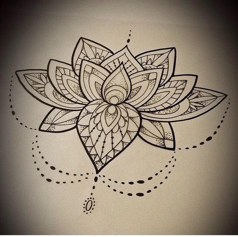 I'd like to see this mandala style of pattern incorporated into a subtle background pattern.