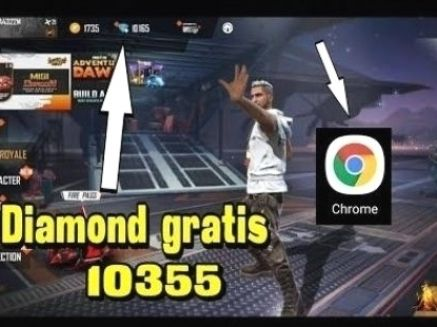 The Secret How To Get Free Fire Diamond Part 7 In 2021 Diamond Free Mobile Legends Free Gift Card Generator