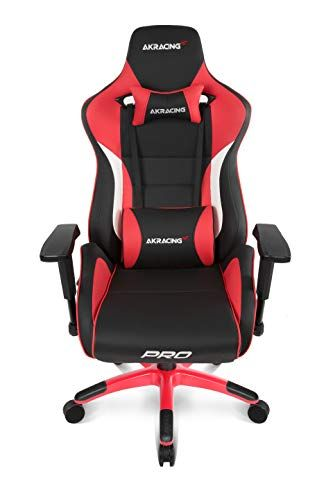 Akracing Masters Series Pro Luxury Xl Gaming Chair With High Backrest Recliner Swivel Tilt 4d Armrests Rocker Seat He Gaming Chair Chair Ergonomic Chair