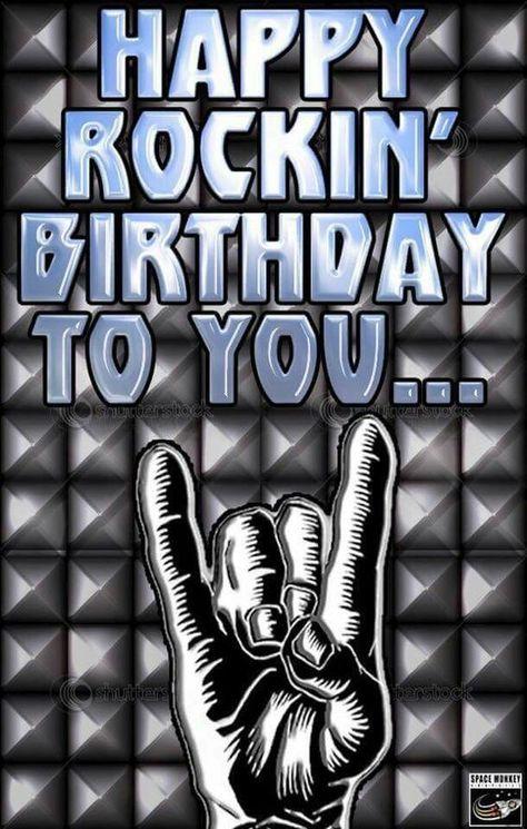 Happy Rockin' Birthday To You