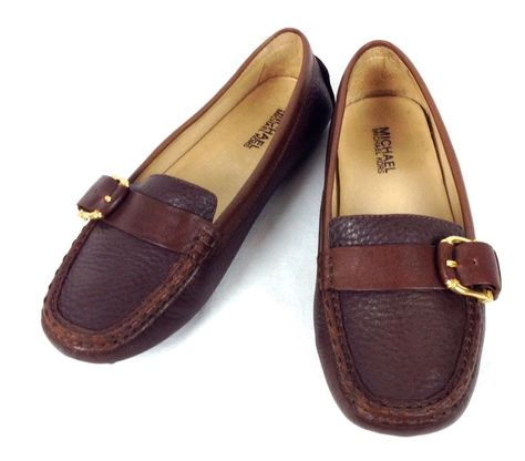 Loafers Suede Browns J Jill Leather Driving Mocassin Women Size 6.5 New