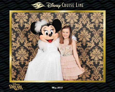 Dress Up Night With Minnie Disney Cruise Line Disney Cruise Dress Up