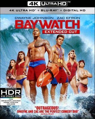 Baywatch 4k Uhd Blu Ray Digital Baywatch Movie Baywatch Zac Efron