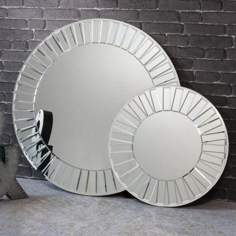 Sunburst Mirror On Mirror Round Wall Mirror Round Wall Mirror