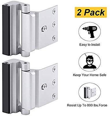 Home Security Door Lock Childproof Door Reinforcement Lock With 3