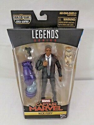 Marvel Legends Nick Fury Captain Marvel Kree Sentry BAF Series NEW