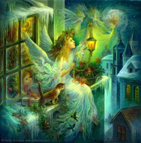 Christmas wonder by *Fantasy-fairy-angel Magical.