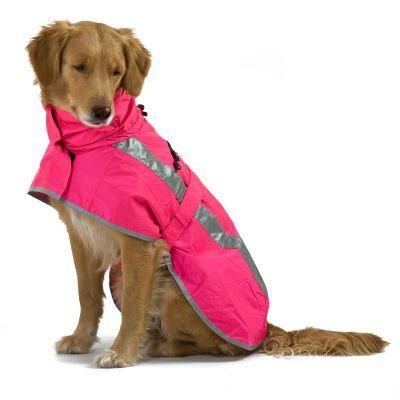 Hundejacke Sturm Hoodie neonpink | Hurtta Lifeguard Hoodie online kaufen