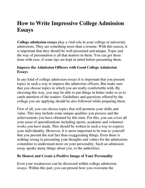 College Admission Resume Template Document Sample College - resume for college admission