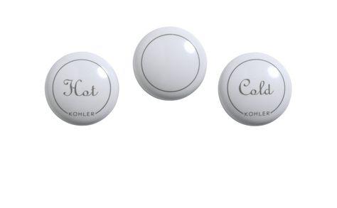 Kohler GP1077791-0 Plug Button with Fairfax Centerset Faucet