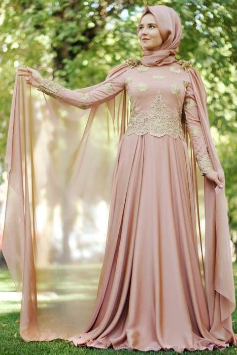 Sunnet Annesi Kiyafetleri Tesettur Pelerinli Elbise Kiyafet Elbise Modelleri