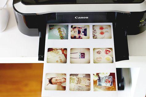 Printing instagram for PL.