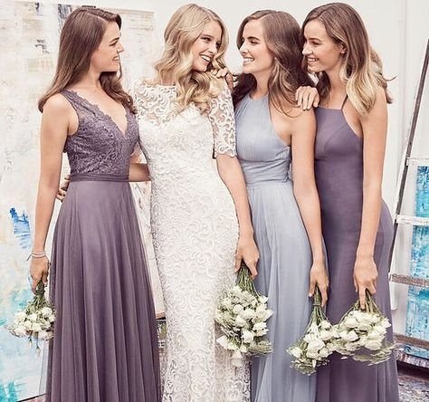 Miss Ruby Bridal Boutique Milwaukee Bridesmaids Home Suits In 2018 Svadba Nevesta Podruzhki Nevesty