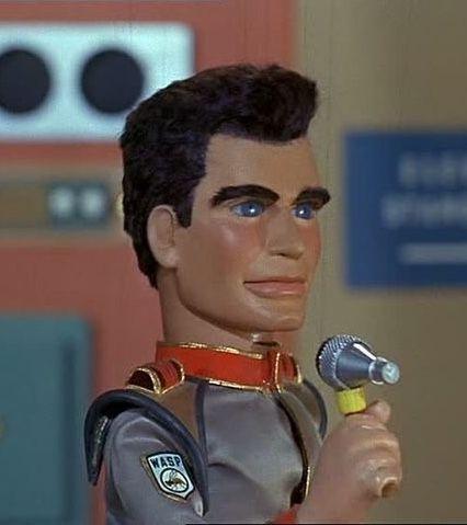 Gerry Anderson Thunderbirds Captain Scarlet Stingray Joe 90 1 X Puppet Head Cast