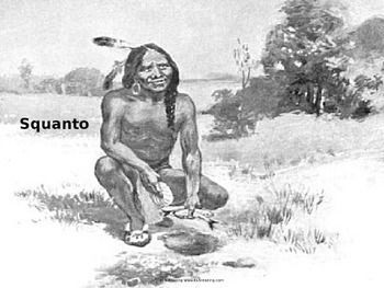 Photo of Squanto – Life Story – Power Point – History Facts Pilgrims Thanksgiving