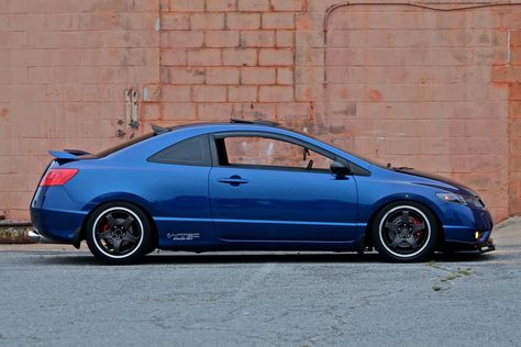 V2 Rear Visor/Whale Tail for 06-11 Civic COUPE