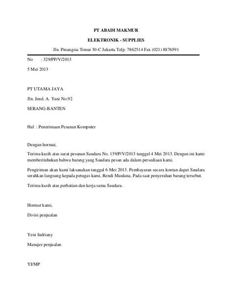 Contoh Surat Permohonan Lamaran Kerja Satpol Pp Contoh